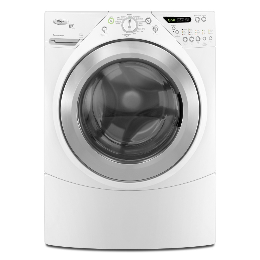 Whirlpool Duet 3.8-cu ft High-Efficiency Stackable Front-Load Washer (White)