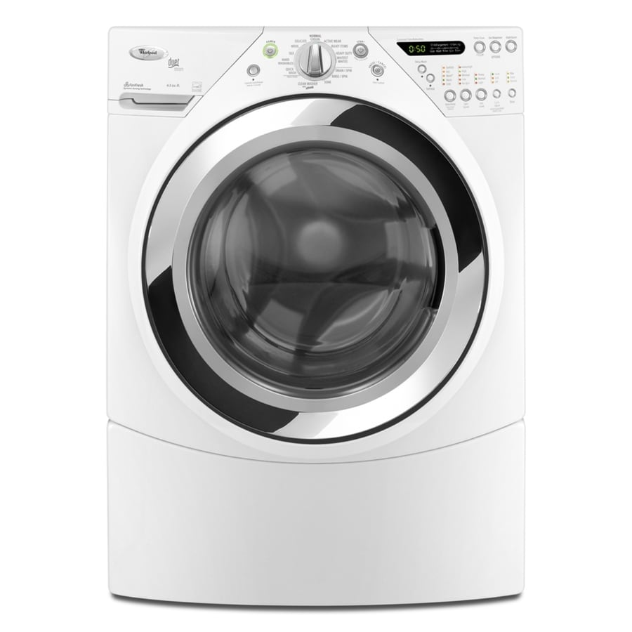 Whirlpool 3.9 Cu. Ft. Stackable Front-Load Washer (White) ENERGY STAR