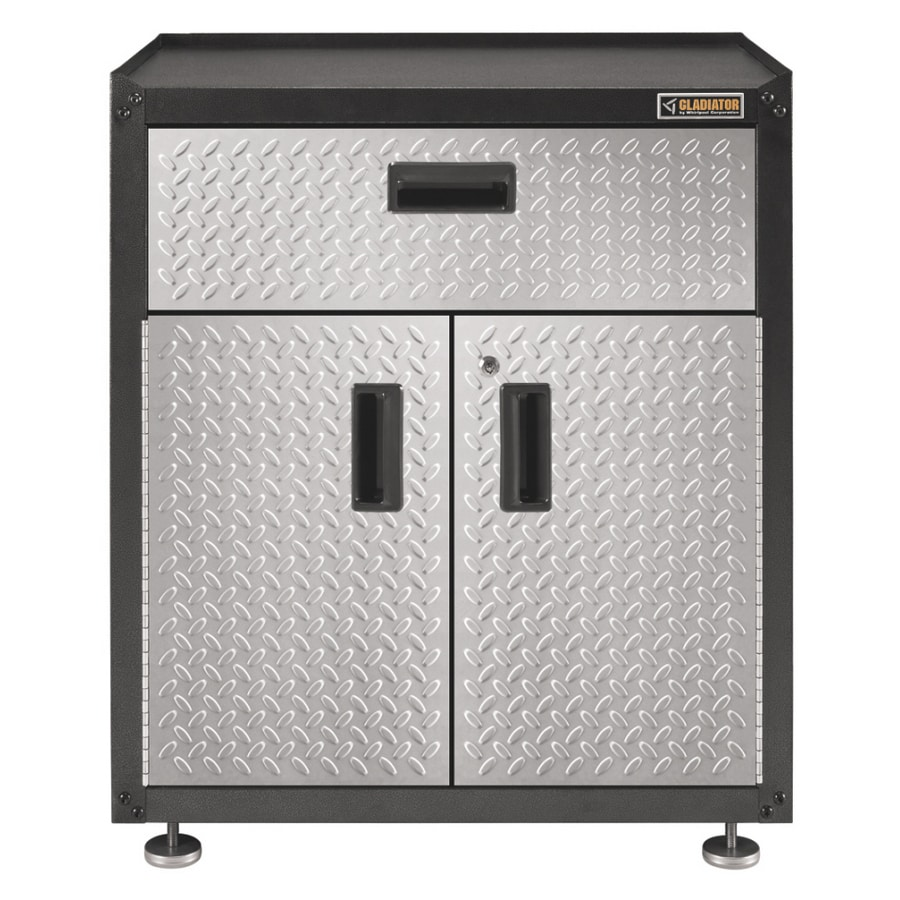 garage cabinets lowes shop gladiator 31 quot h x 28 quot w x 18 quot d metal garage cabinet at 15706