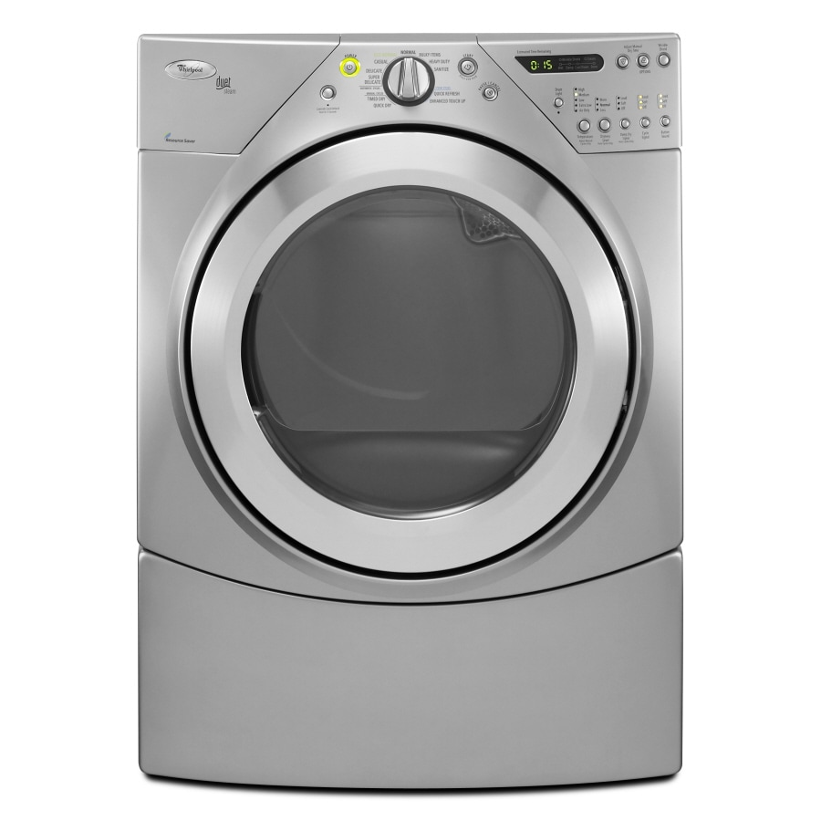Whirlpool Duet 7.2 Cu Ft Electric Dryer (Lunar Silver) At
