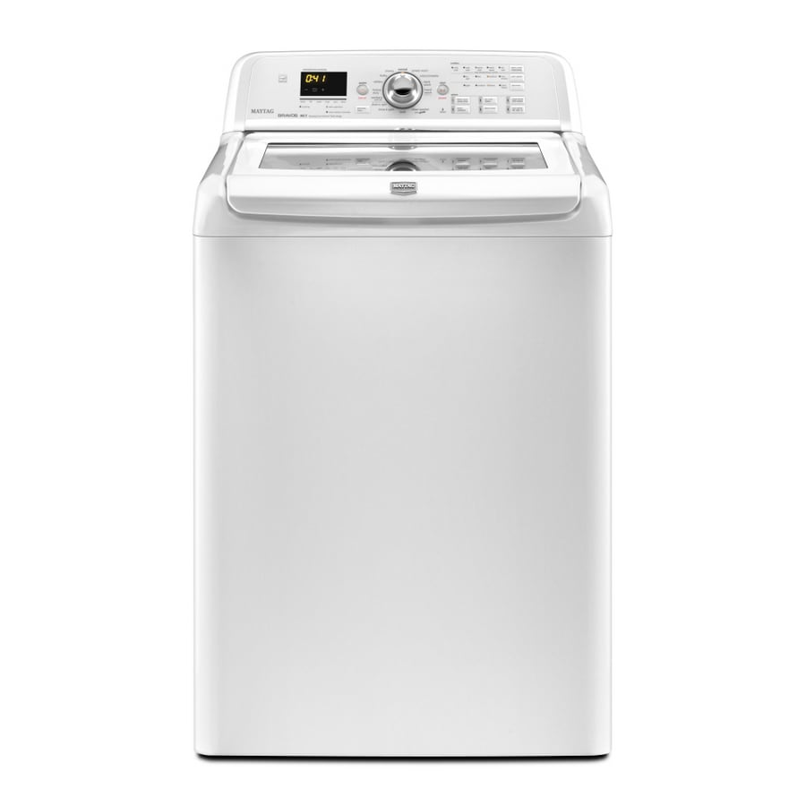 Maytag 4-cu ft High-Efficiency Top-Load Washer (White)