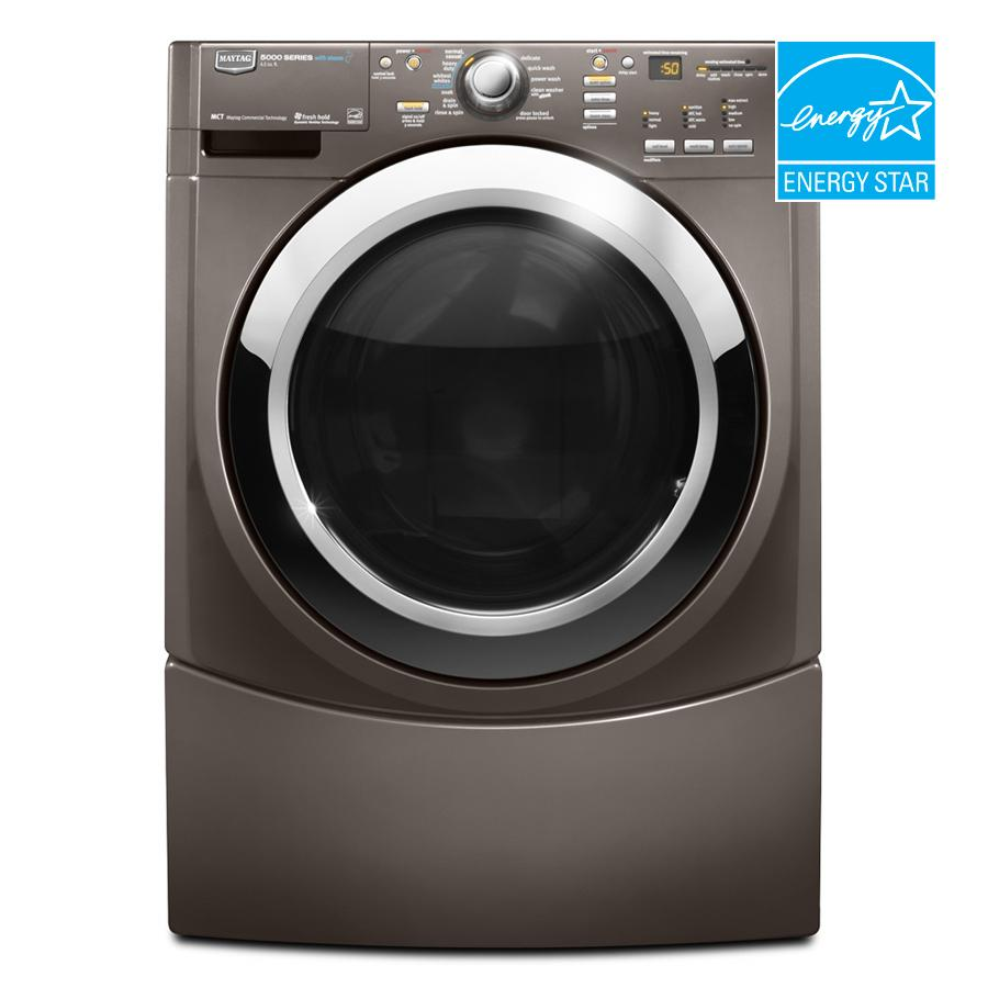 Shop maytag 4 5 cu ft front load washer color oxide for 5 star energy