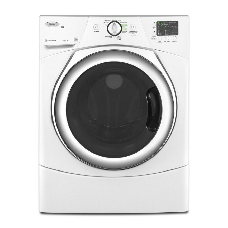 Ft Front Load Washer Color White Energy