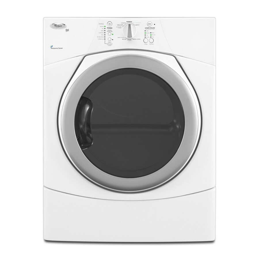 Whirlpool® 6.7 Cu. Ft. Duet® Electric Dryer (Color: White