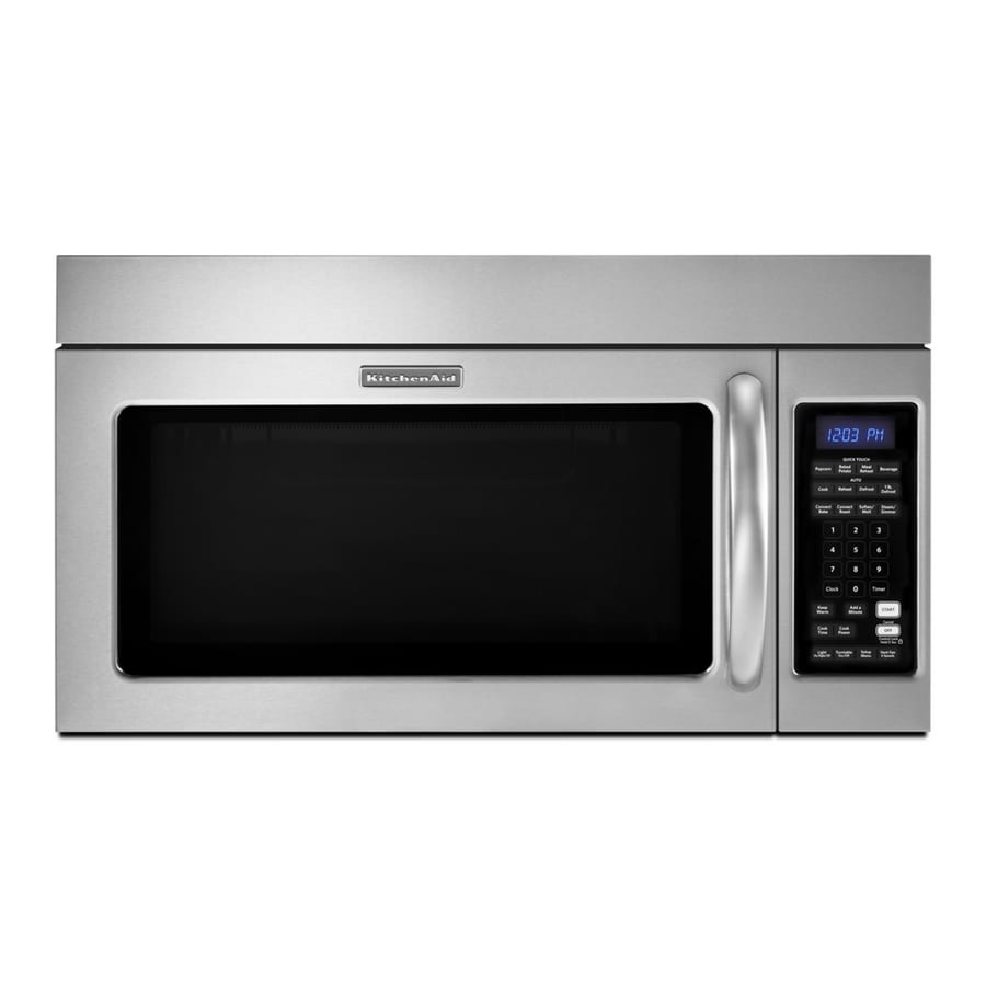 Kitchenaid Convection Microwave Over The Range shop kitchenaid 1.8-cu ft over-the-range convection oven microwave