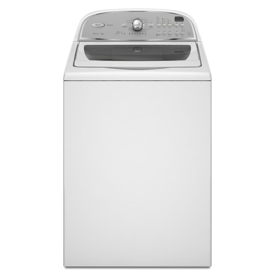 Whirlpool Cabrio 3.6-cu ft High-Efficiency Top-Load Washer (White)
