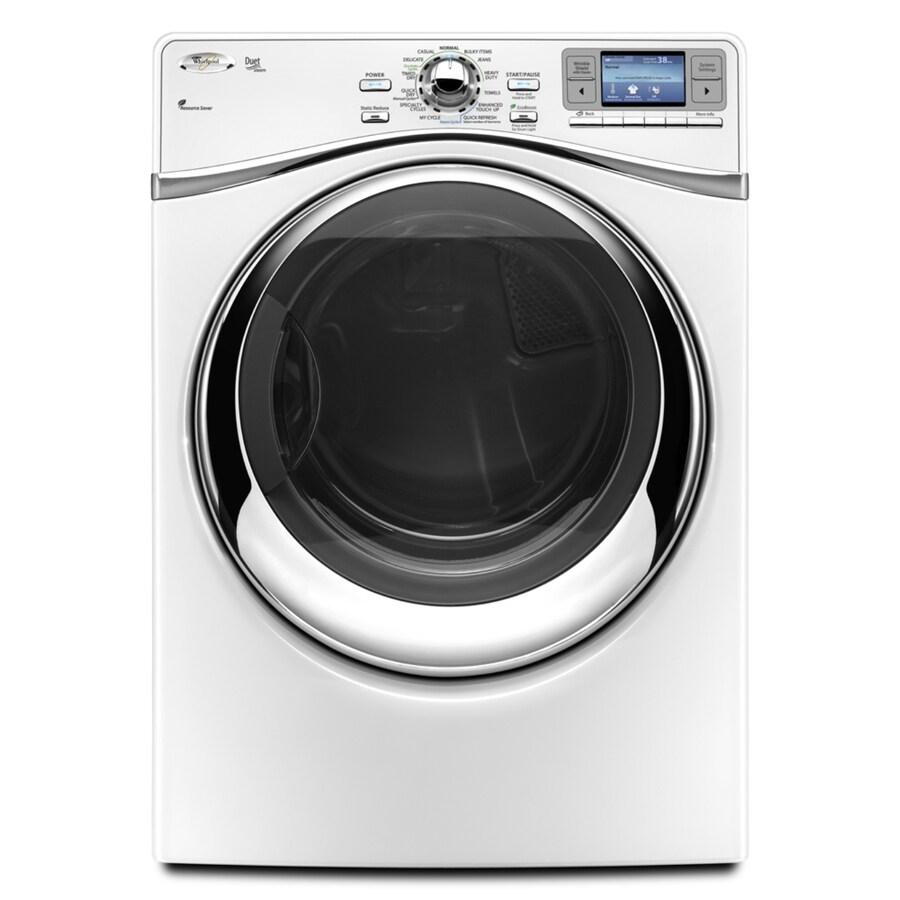 Whirlpool Duet 7.4 cu ft Gas Dryer (White)