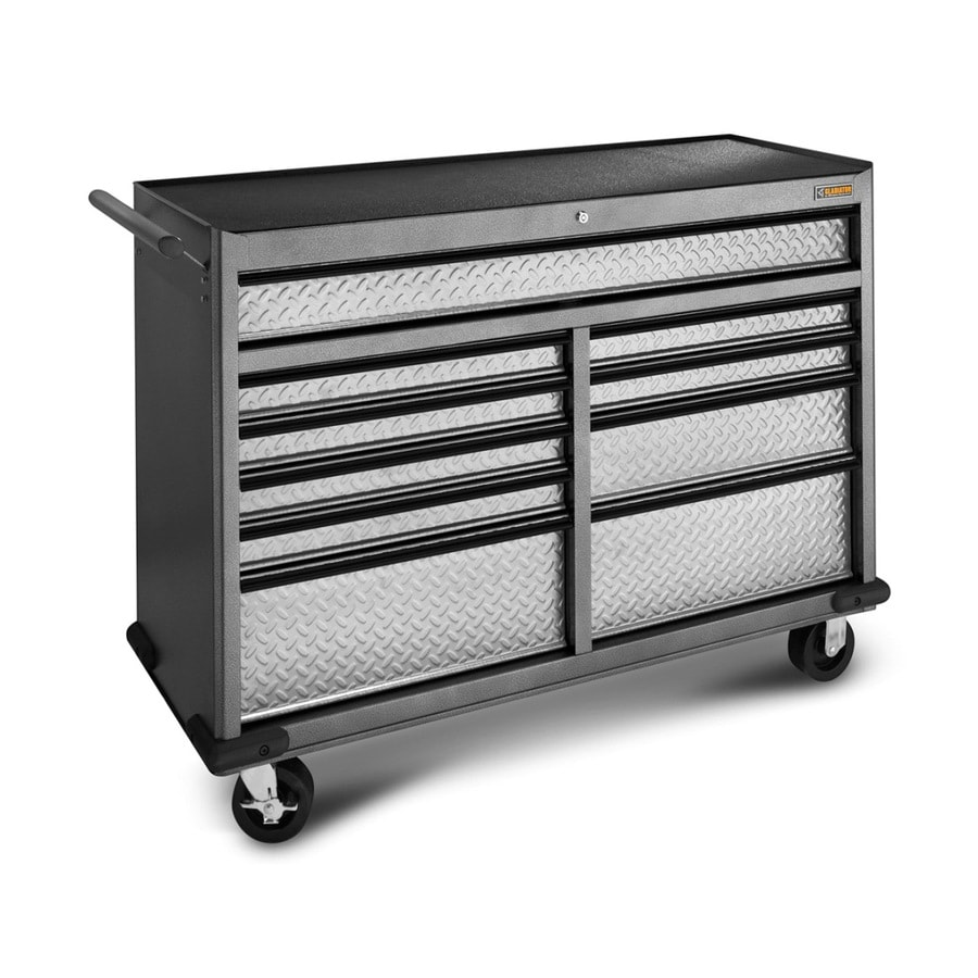 Gladiator Premier Series 38.78-in x 51.97-in 12-Drawer Ball-bearing Steel Tool Chest (Gray)