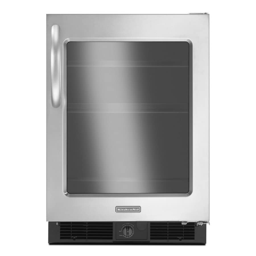 KitchenAid Architect II 5.6-cu ft Compact Refrigerator (Stainless Steel)