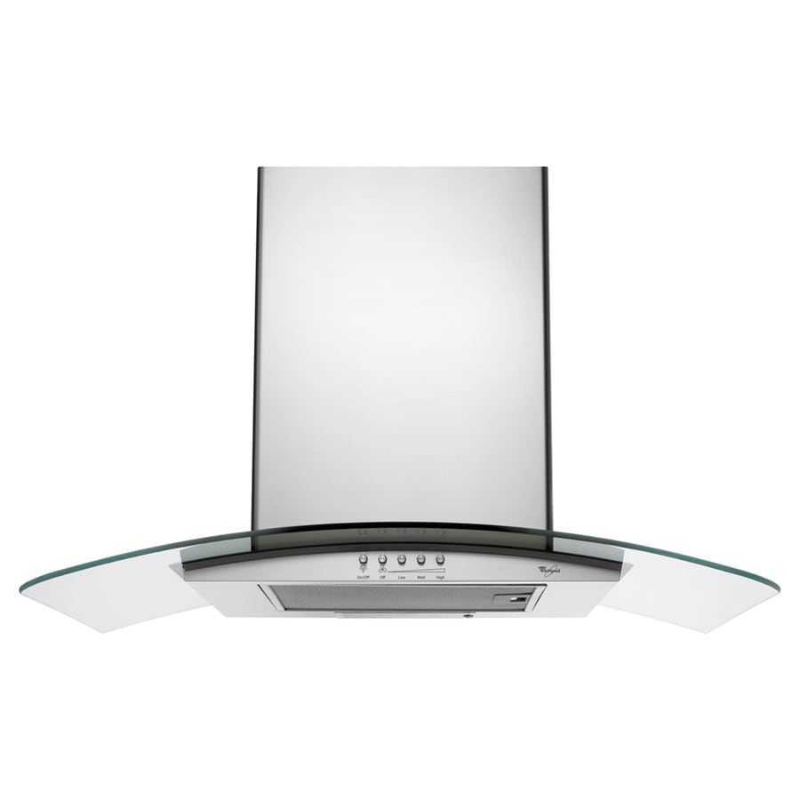 Whirlpool Gold Ducted Wall Mounted Range Hood (Stainless Steel) (Common: 36