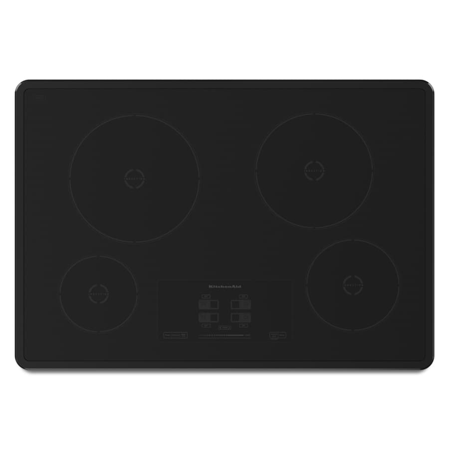 KitchenAid Smooth Surface Induction Electric Cooktop (Black) (Common: 30-in; Actual 30.8125-in)