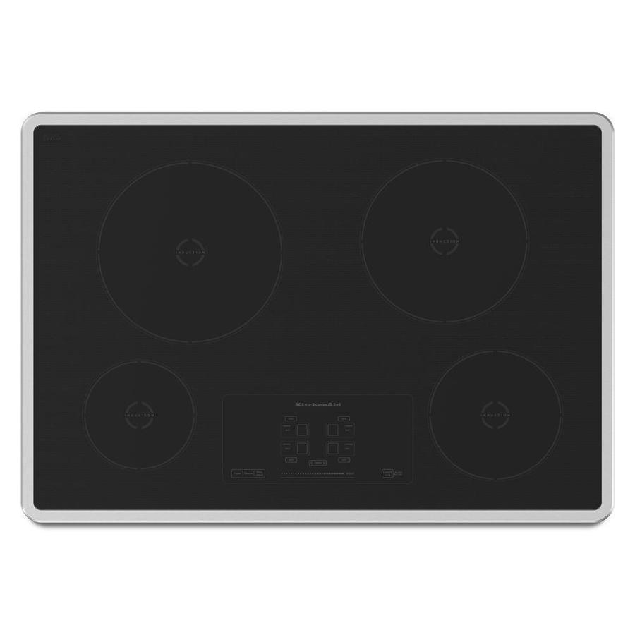 Shop Kitchenaid 4 Element Induction Cooktop Stainless