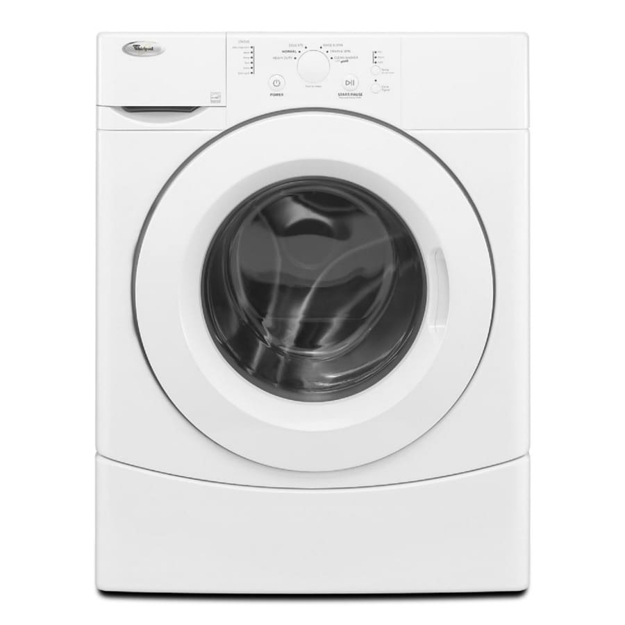 Shop Whirlpool 3 5 Cu Ft Front Load Washer White