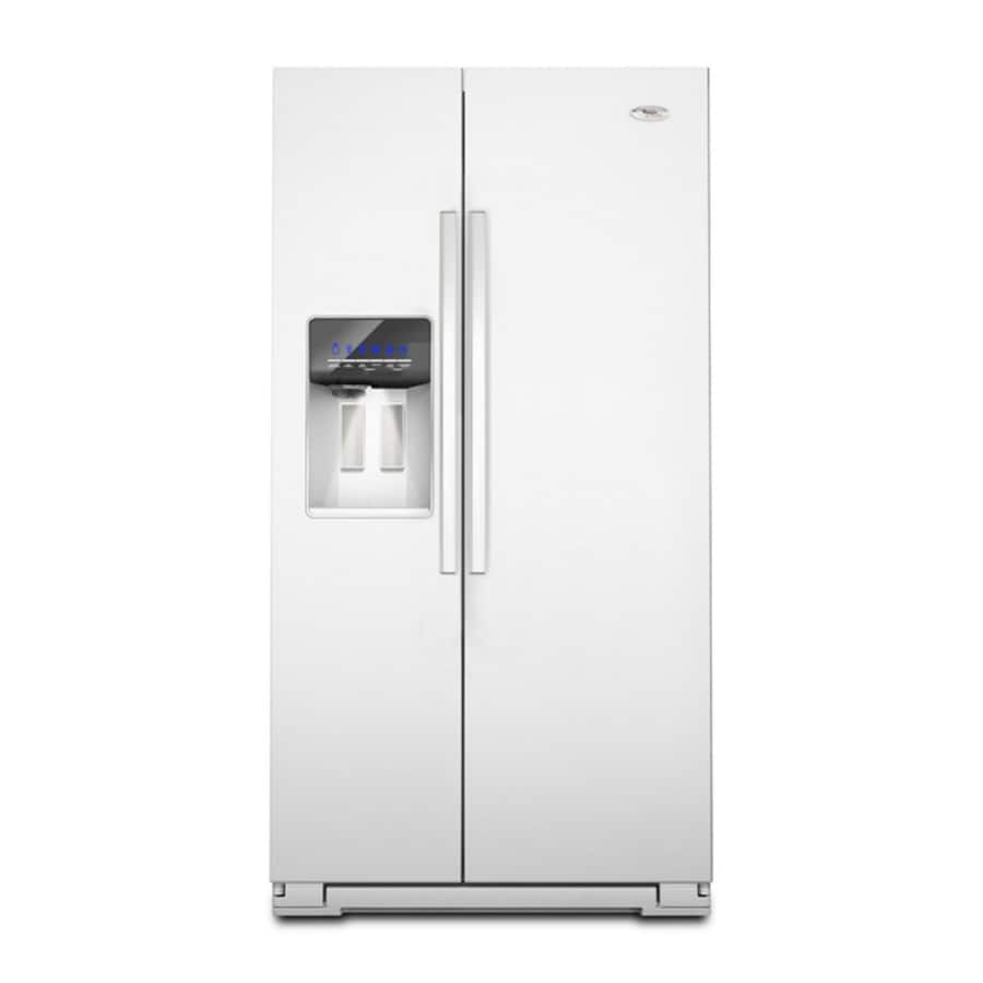 Whirlpool Gold 26.4-cu Ft Side-by-Side Refrigerator With