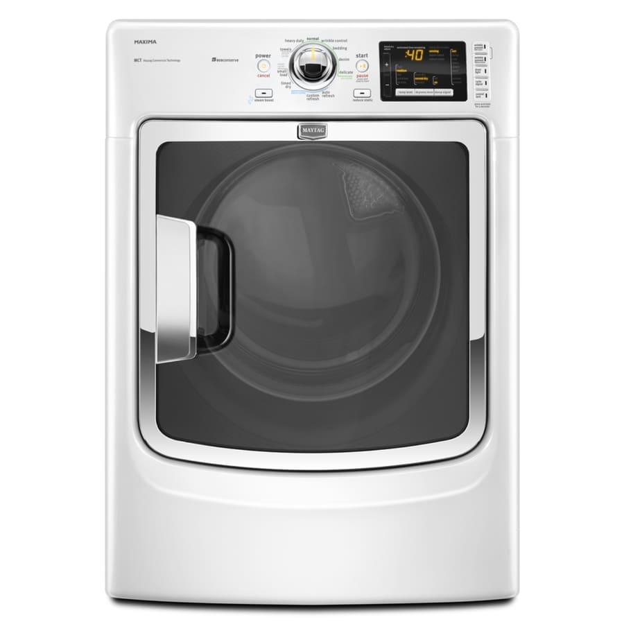 Maytag 7.4 cu ft Gas Dryer (White)