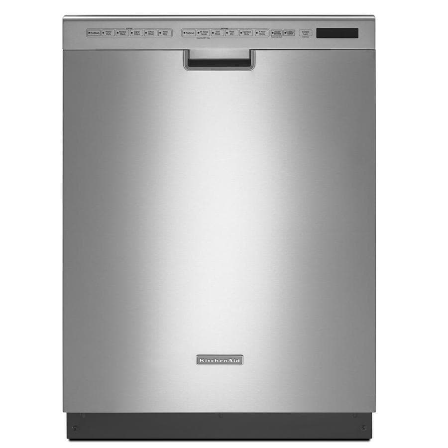 "KitchenAid 24"" Built-In Dishwasher (Stainless Steel) ENERGY STAR"