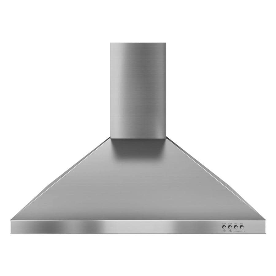 Whirlpool Gold Ducted Wall-Mounted Range Hood (Stainless steel) (Common: 30-in; Actual: 30-in)