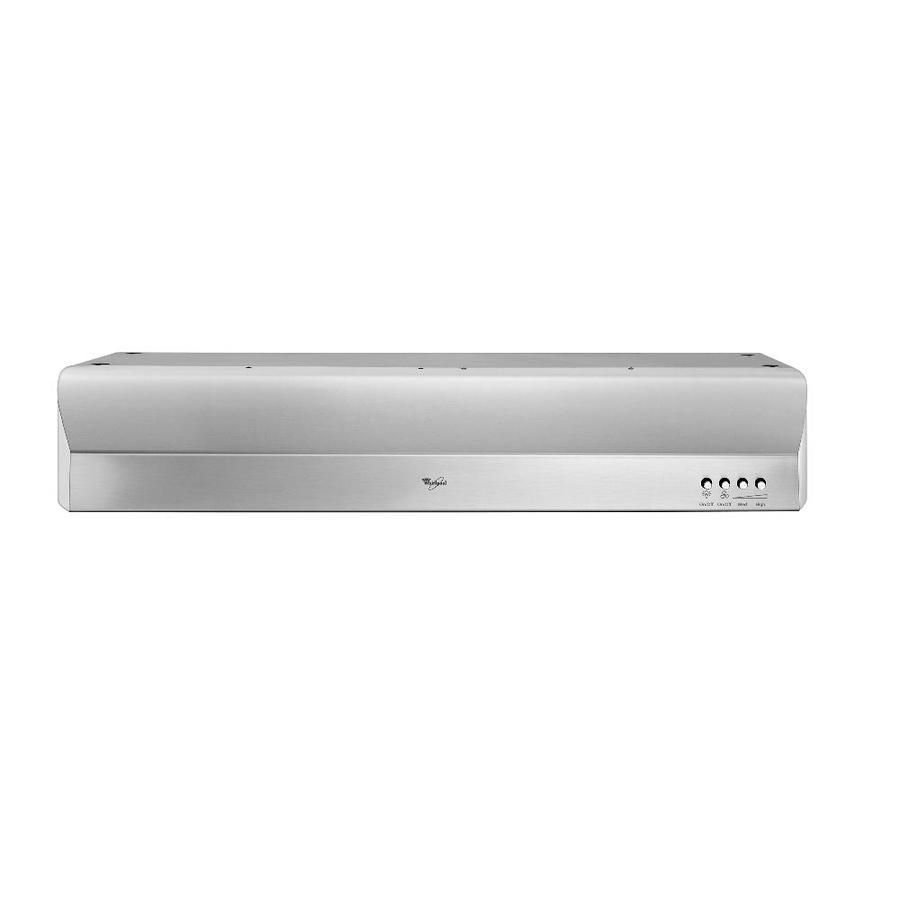Whirlpool Gold Undercabinet Range Hood (Stainless) (Common: 30-in; Actual: 30-in)
