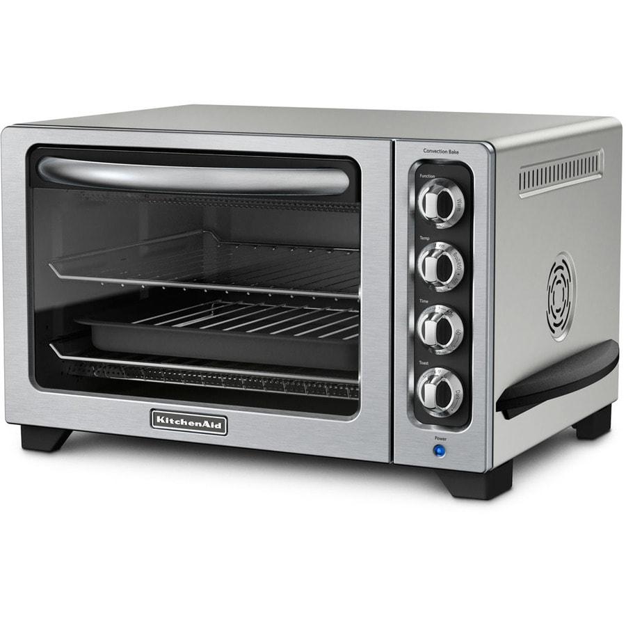 KitchenAid 6-Slice Chrome Convection Toaster Oven
