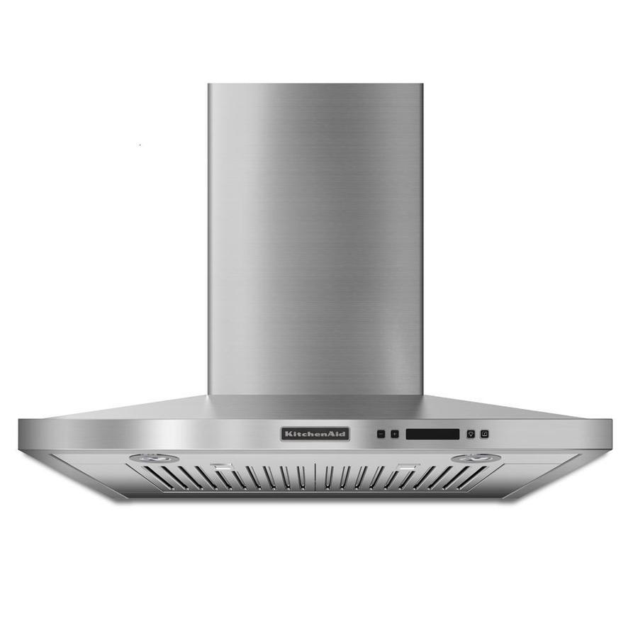 KitchenAid Convertible Wall-Mounted Range Hood (Stainless) (Common: 30-in; Actual 30-in)