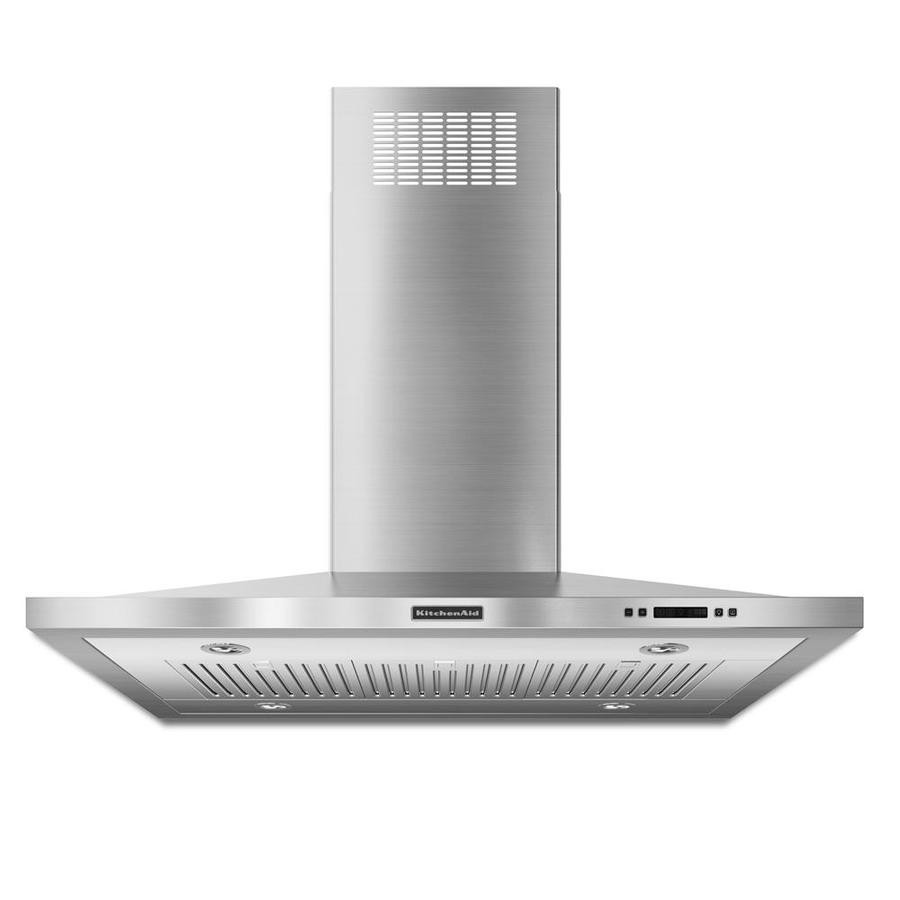 KitchenAid Convertible Island Range Hood (Stainless) (Common: 42-in; Actual 42-in)