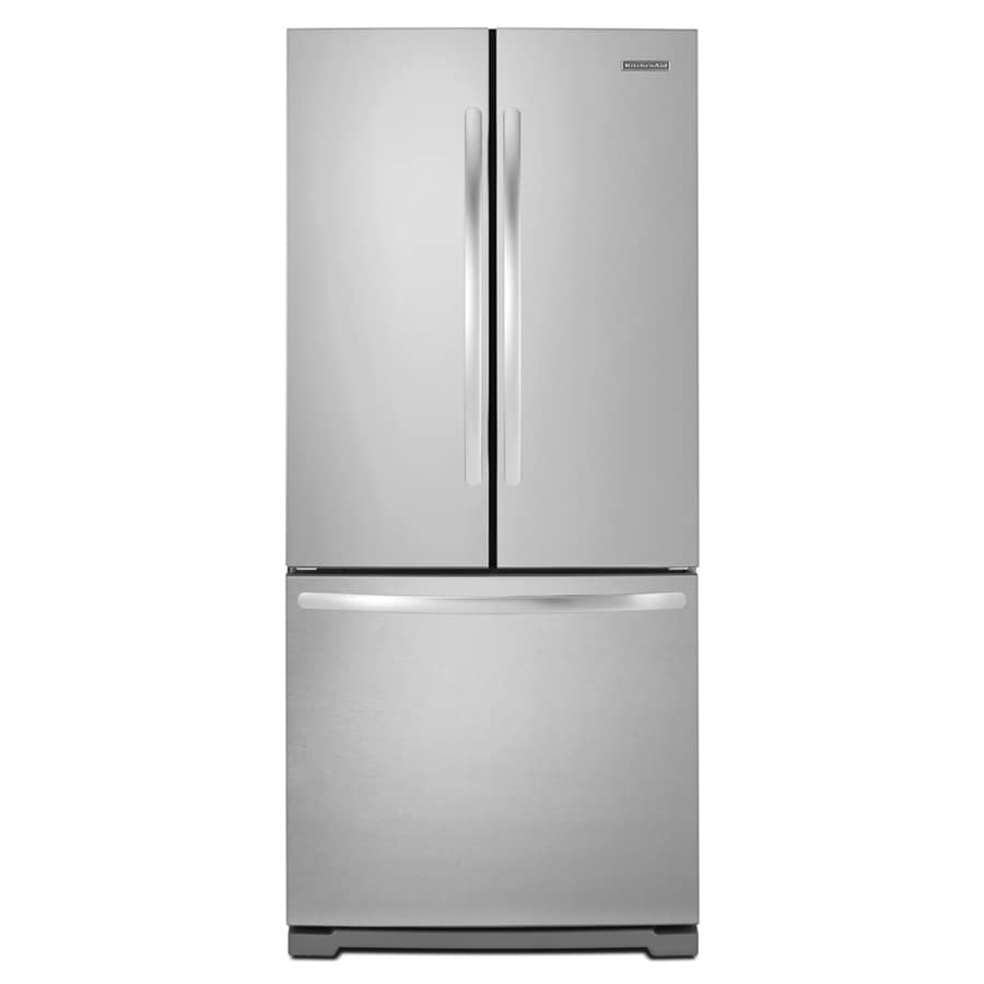 KitchenAid Architect II 19.6-cu ft French Door Refrigerator with Single Ice Maker (Stainless Steel) ENERGY STAR