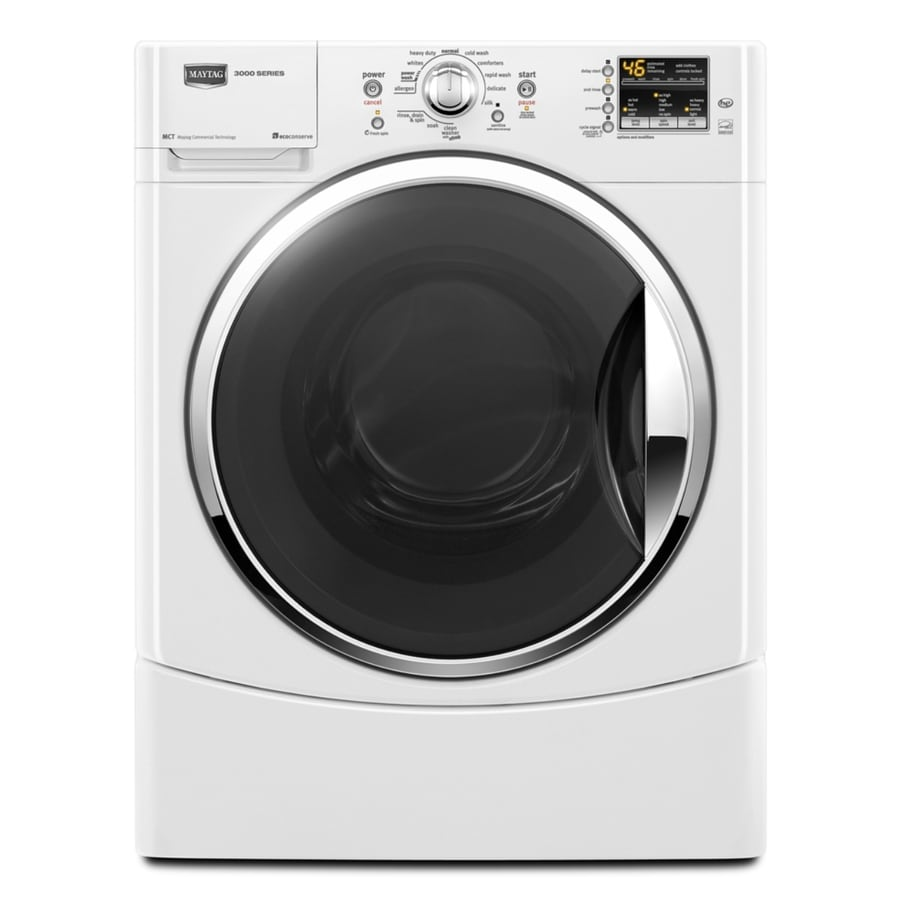 Maytag Performance 3.5 cu ft High-Efficiency Front-Load Washer (White) ENERGY STAR