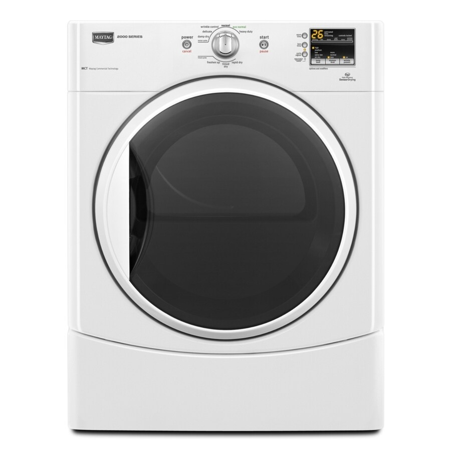Maytag 6.7 cu ft Gas Dryer (White)