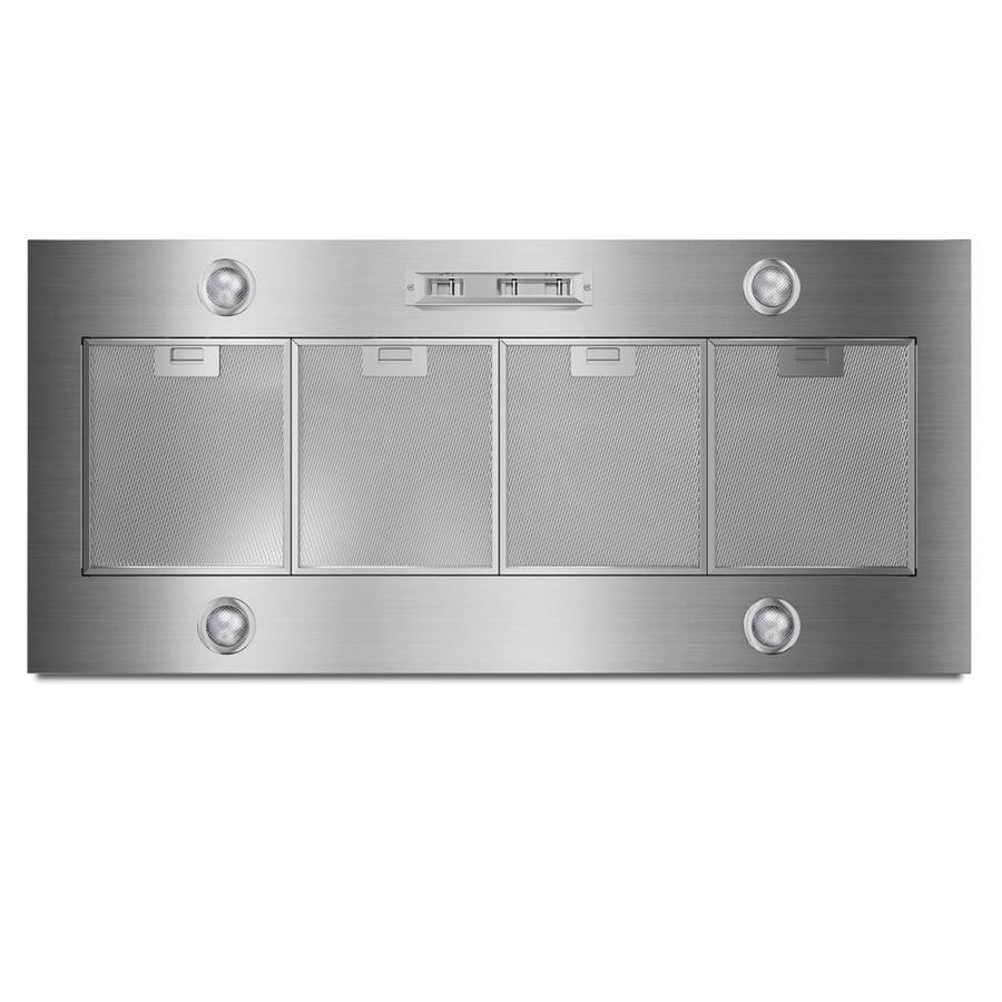Whirlpool Ducted Wall-Mounted Range Hood (Stainless Steel) (Common: 48-in; Actual: 48-in)