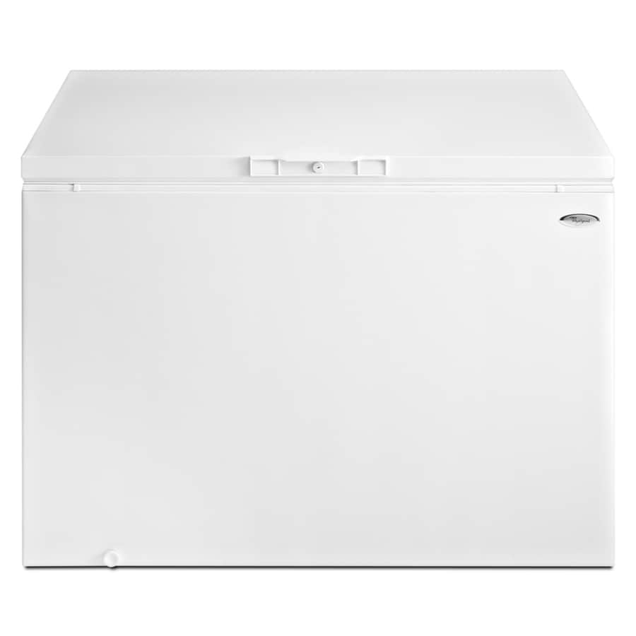Whirlpool 14.8-cu ft Chest Freezer (White) ENERGY STAR