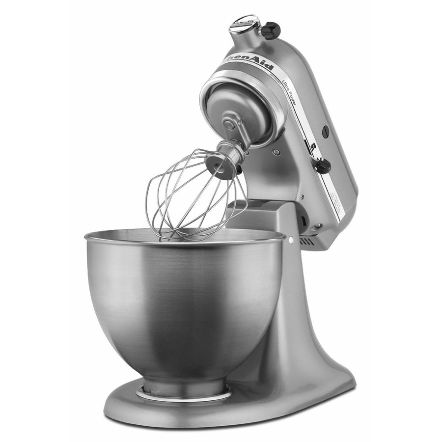 Good KitchenAid Ultra Power Series 4.5 Quart 10 Speed Contour Silver Stand Mixer