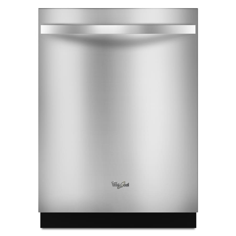 Whirlpool Gold 51-Decibel Built-In Dishwasher (Stainless Steel) (Common: 24-in; Actual: 23.875-in)