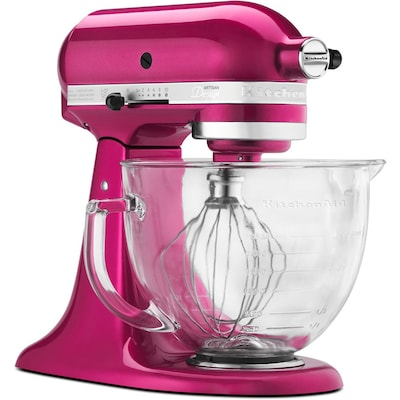 Artisan Designer 5-Quart 10-Speed Raspberry Ice Countertop Stand Mixer