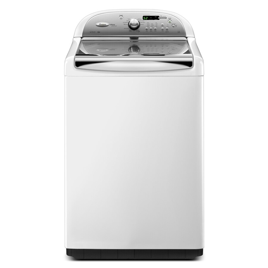 Whirlpool Cabrio Platinum 4.6-cu ft High-Efficiency Top-Load Washer (White)