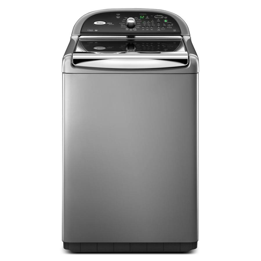 Whirlpool Cabrio Platinum 4.6-cu ft High-Efficiency Top-Load Washer (Chrome)