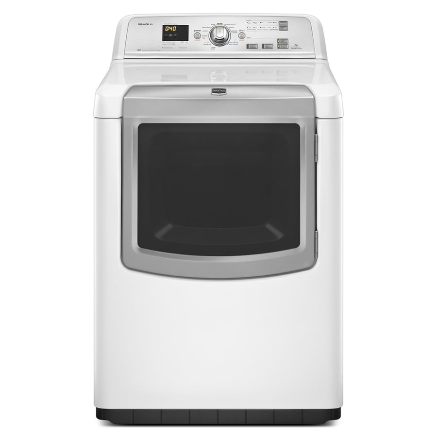 Maytag Bravos XL 7.3-cu ft Gas Dryer (White)