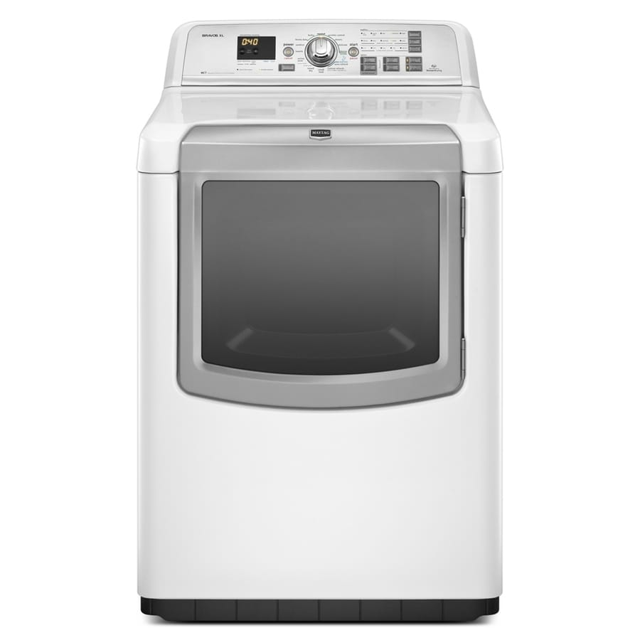 Maytag 7.3 cu ft Gas Dryer (White)
