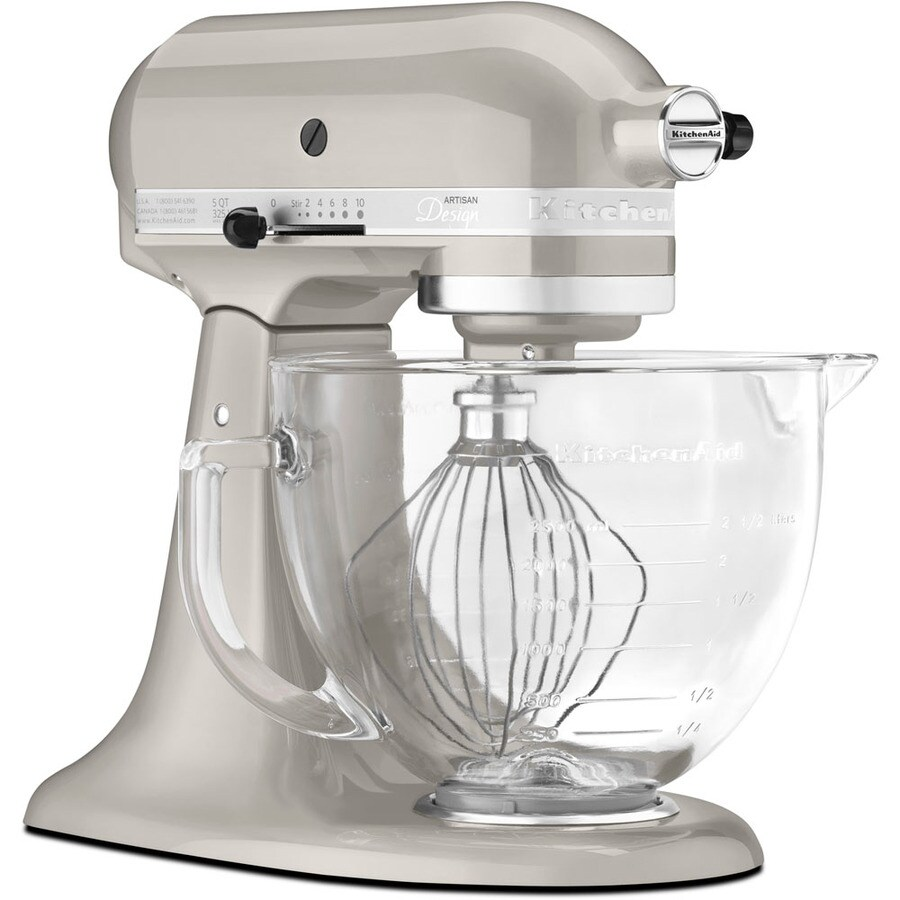 KitchenAid 5 Quart 10 Speed Silver Metallic Stand Mixer