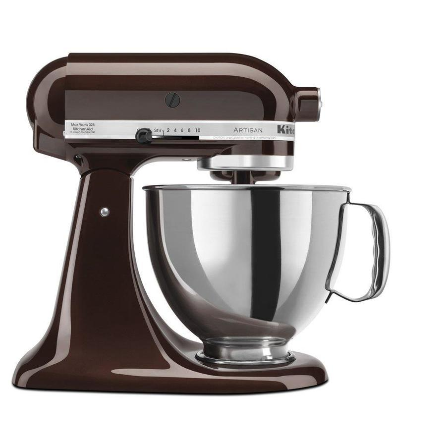 KitchenAid Artisan 5-Quart 10-Speed Espresso Countertop Stand Mixer