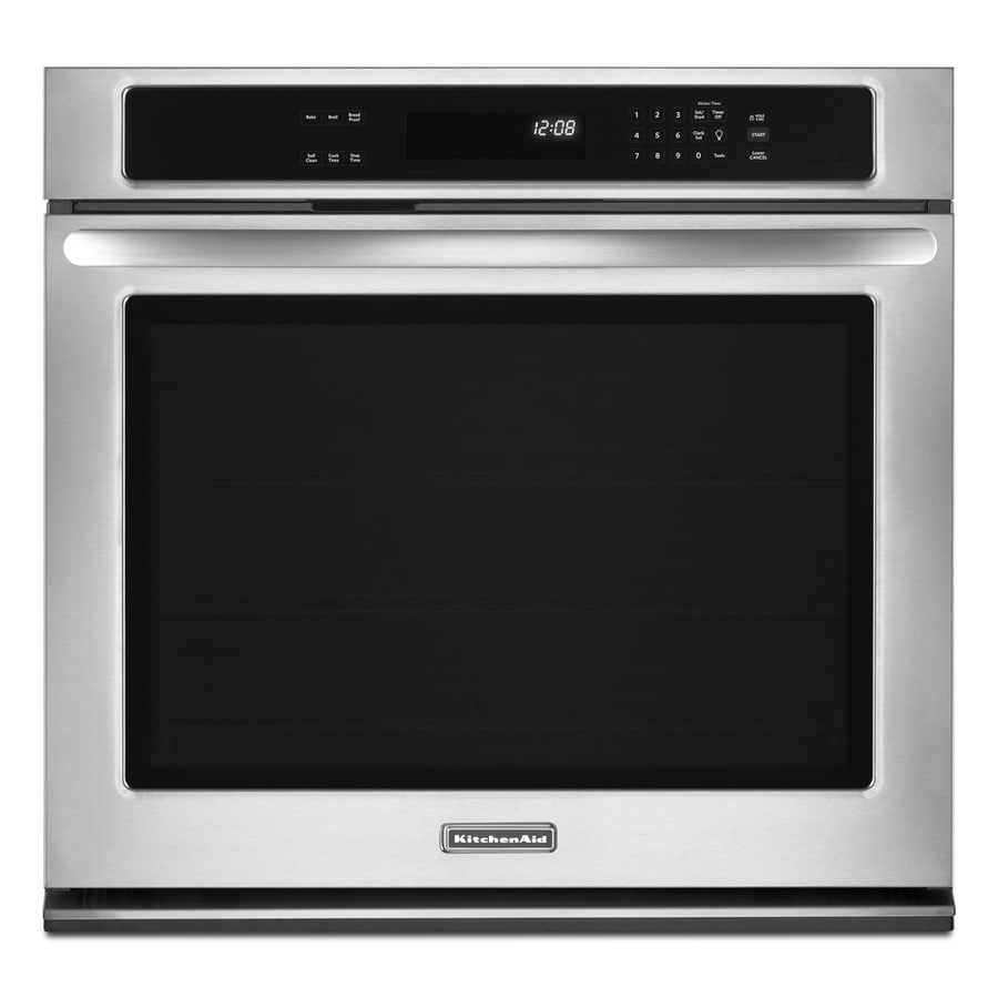 KitchenAid Architect II Single Electric Wall Oven (Stainless Steel) (Common: 30-in; Actual 30-in)