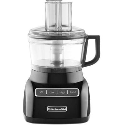 7-Cup 320-Watt Onyx Black 3-Blade Food Processor