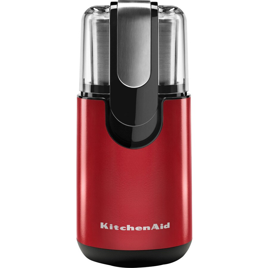 KitchenAid 4-oz Empire Red Coffee Grinder