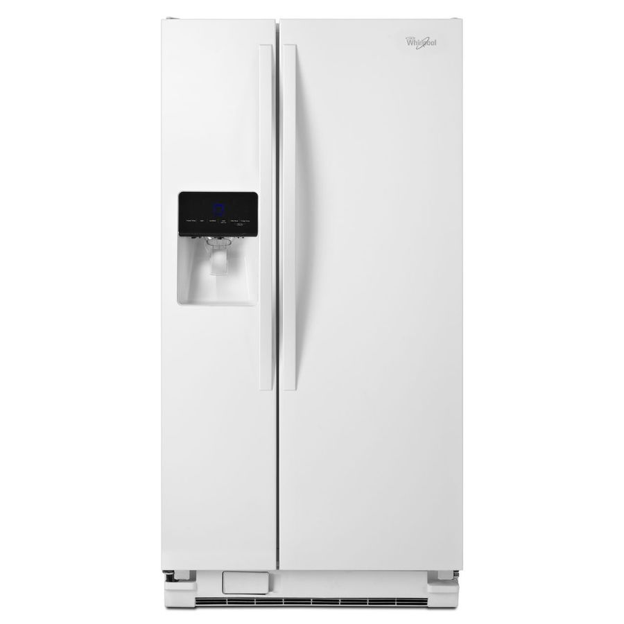 shop whirlpool 21 3 cu ft side by side refrigerator with. Black Bedroom Furniture Sets. Home Design Ideas