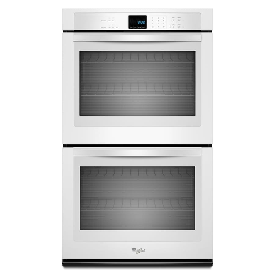Whirlpool Self-Cleaning Double Electric Wall Oven (White) (Common: 27-in; Actual: 27-in)