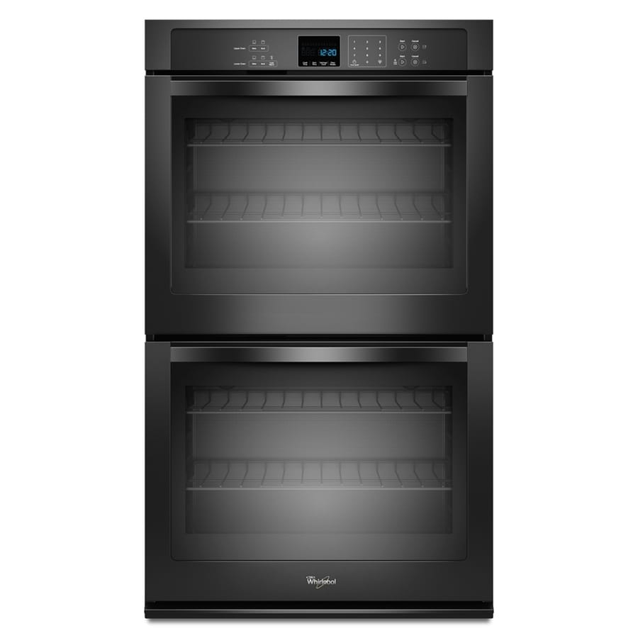Kitchen cabinet black hardware - Electric Wall Oven Black Common 30 In Actual 30 In At Lowes Com