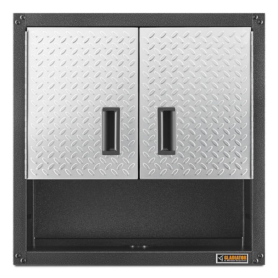 Gladiator Ready-To-Assemble 3/4 Wall GearBox 28-in W x 28-in H x 12-in D Steel Wall-mount Garage Cabinet