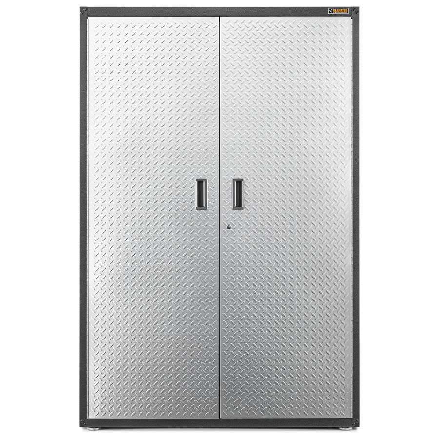 Gladiator Ready-To-Assemble 48-in W x 72-in H x 18-in D Steel Freestanding Or Wall-mount Garage Cabinet