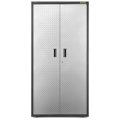 Ready To Emble Large Gearbox 36 In W X 72 H 18 D Steel Freestanding Or Wall Mounted Garage Cabinet
