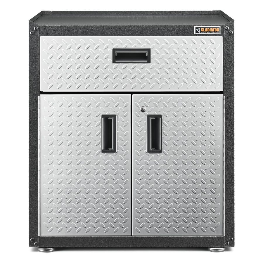Gladiator Ready-to-Assemble 3/4 Door Wall GearBox 28-in W x 31-in H x 18-in D Steel Freestanding Garage Cabinet