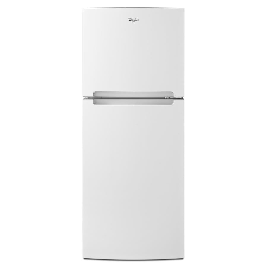 Whirlpool 10.72-cu ft Top-Freezer Refrigerator (White)